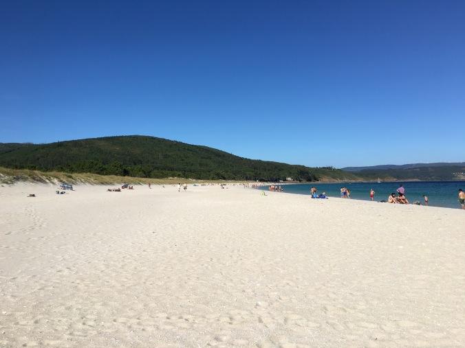 praia langosteira, finisterre
