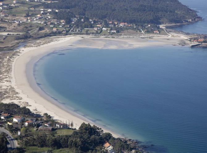 praia aguieira